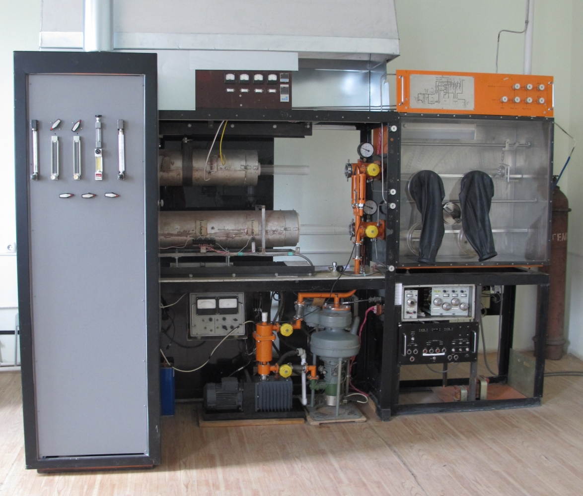 Gas-phase epitaxy device Ц-3342